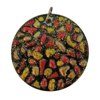 Sparkly-Mosaic Design Pendant
