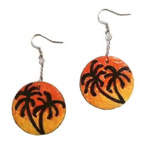 Romantic Sunset Earrings