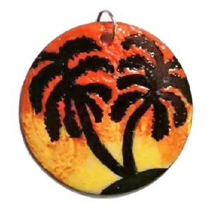 Tropical Sunset Pendant