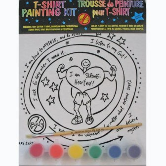 I-am-strong-hearted kids painting kit - T-Shirt