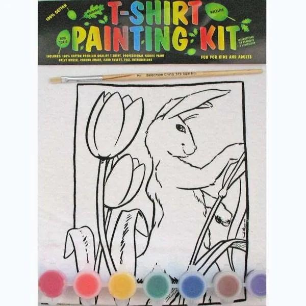 Rabbit T-Shirt Painting Kit - Kids