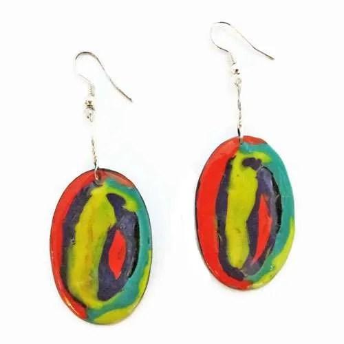 Rainbows-of-Colour Earrings