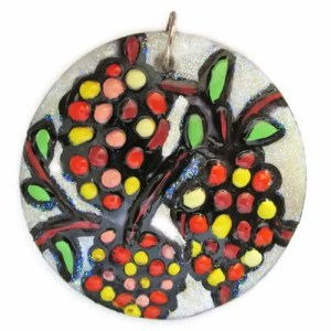 Berries and Branches Pendant