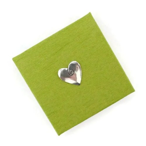 Box Green Heart
