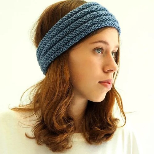 Luna Headband Knitting Kit