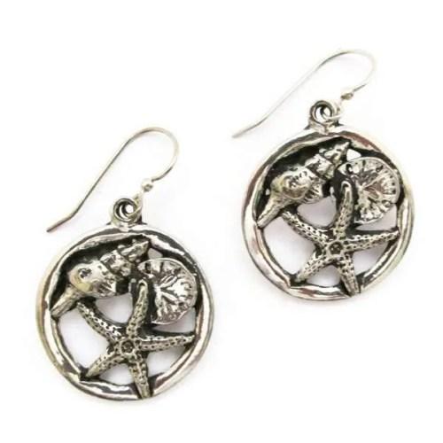 Seashore Hoop Earrings