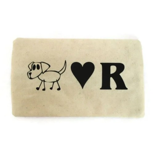 pets dog lover cosmetic bag