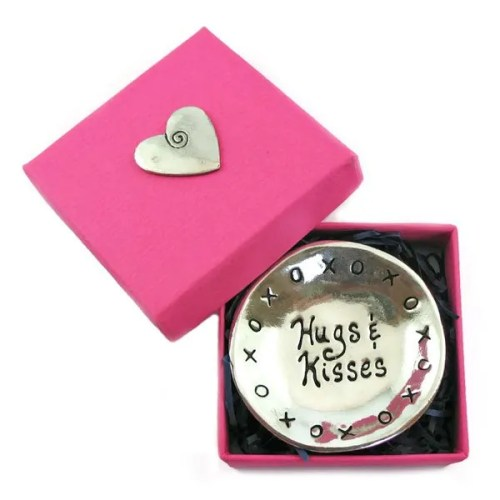 Hugs and Kisses Charm Bowl