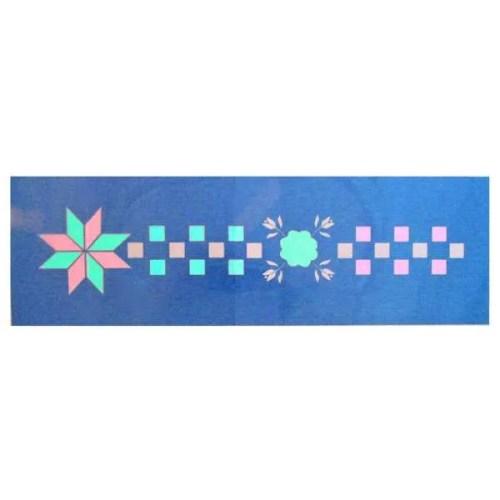 Geometric Floral Stencil