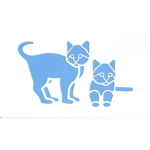 Cats Stencil