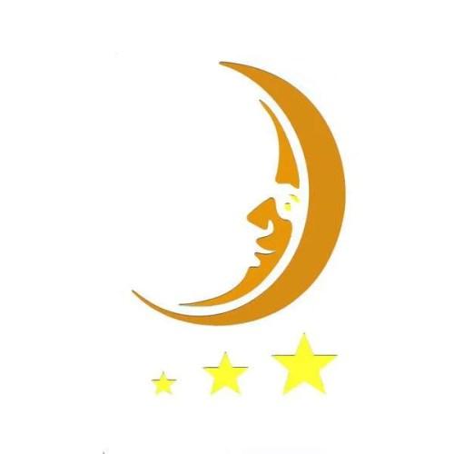 Moon Stencil