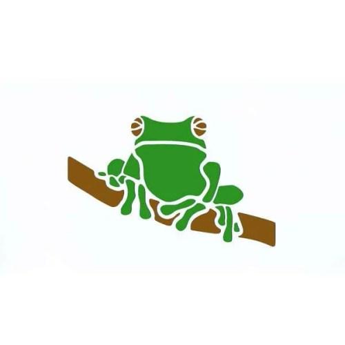 Frog Stencil