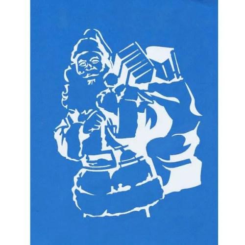 Santa Stencil