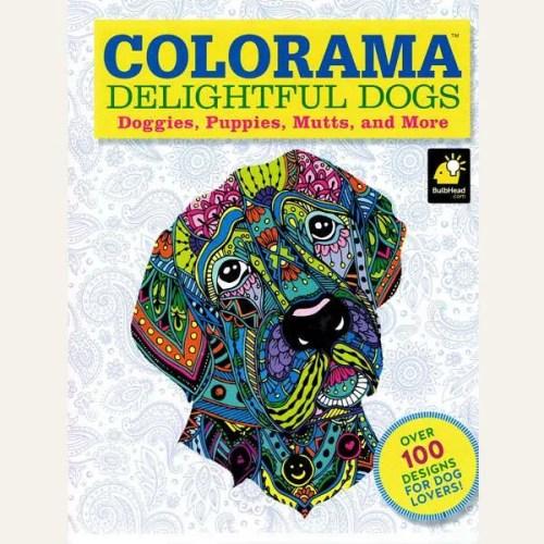 Delightful Dogs Colouring Book