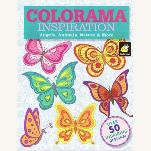 Inspiration Colouring Book
