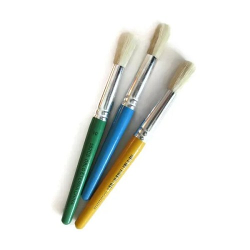 Paint Brushes for Stencils