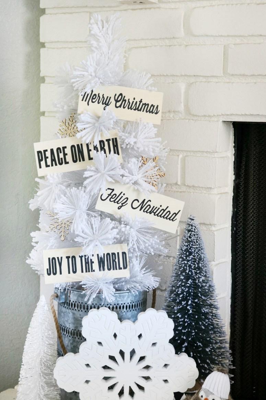 DIY Wood Christmas Ornaments