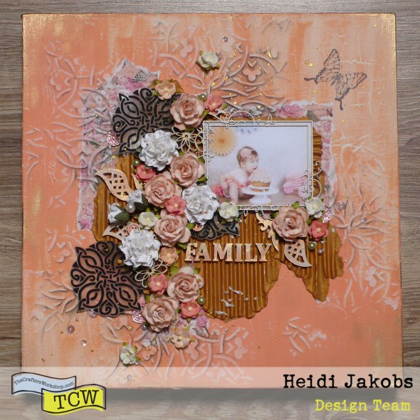 How to create embellishments for your canvas project using Grafix Arts shrink sheet and TCW stencils