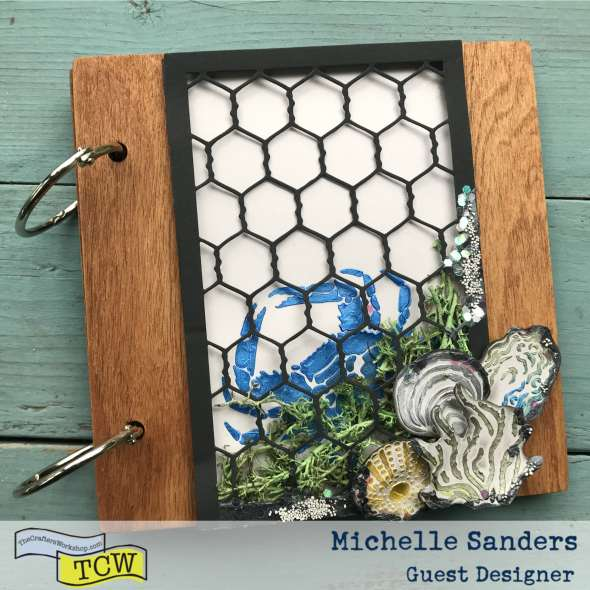 Michelle Sanders January Guest Designer TCW
