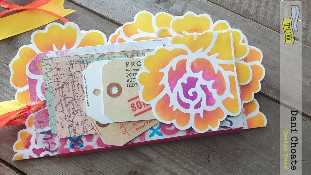 Tag Journal completed using TCW711 Rose Garden