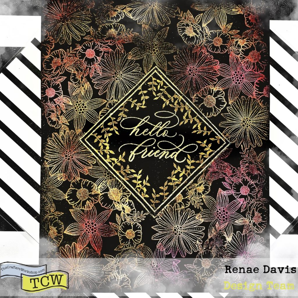 Hello Dear Friend Art Decor by Renae Davis