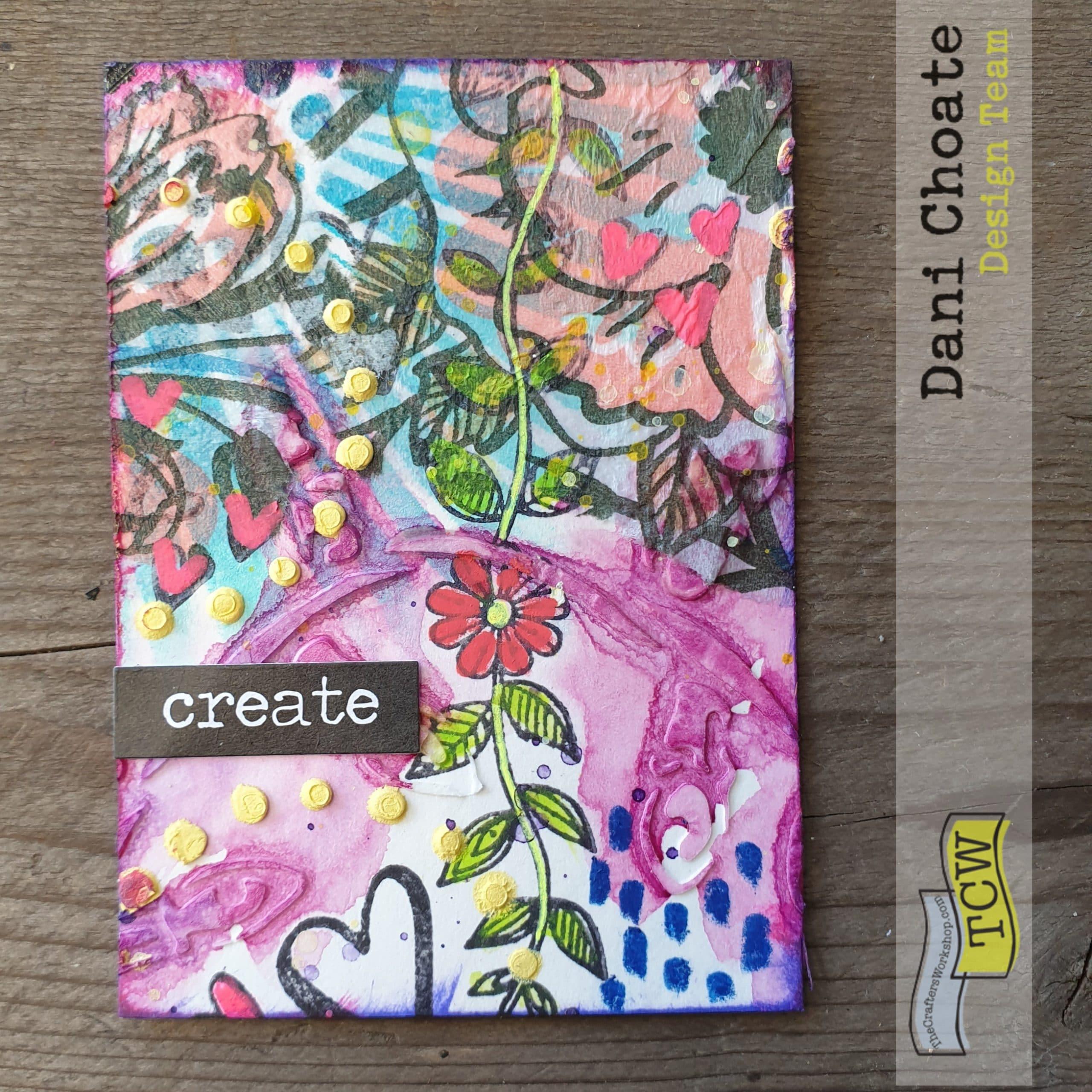 Artist Trading Card - CREATE