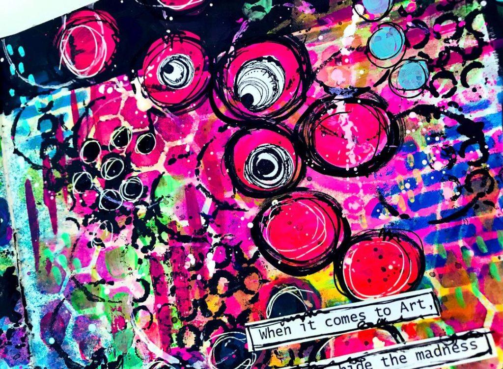 close ups - graffiti wall look