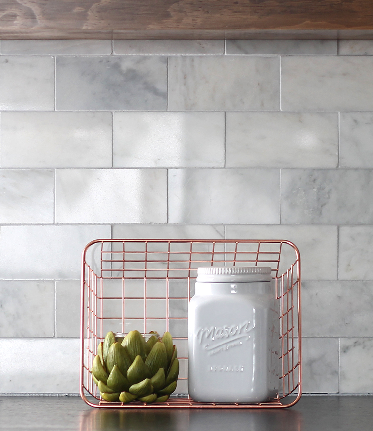 Diy Marble Subway Tile Backsplash Tips Tricks And What Not To Do The Craft Patch