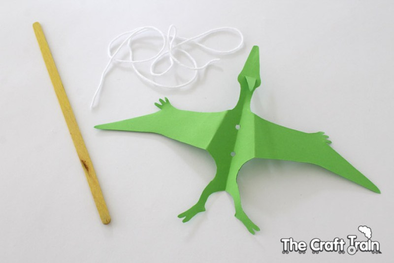 how to make a string puppet out of paper