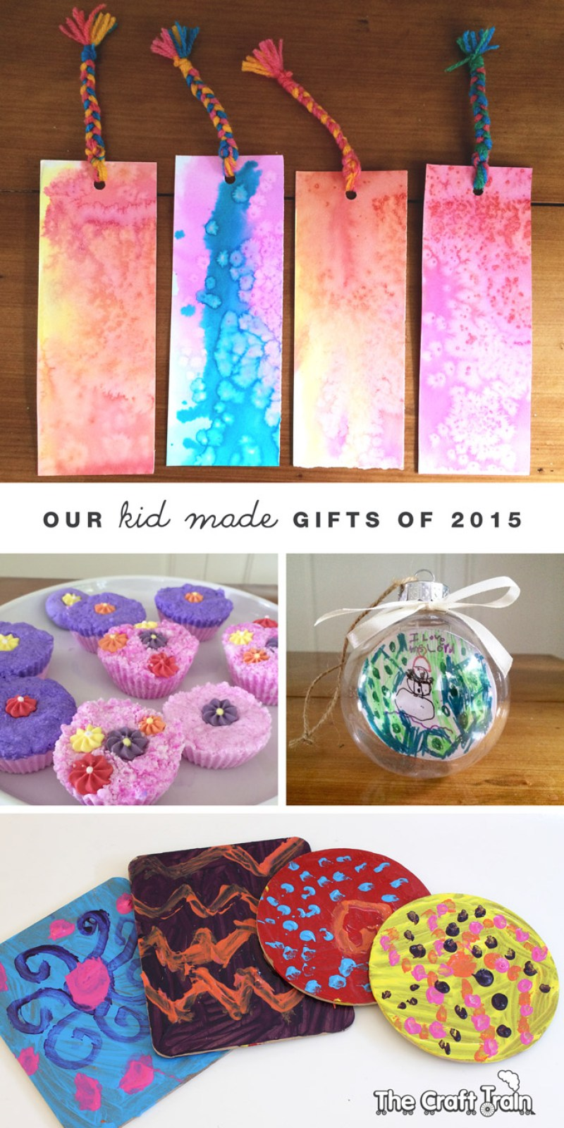 Our kid-made gifts of 2015 - lots of inspiration here!