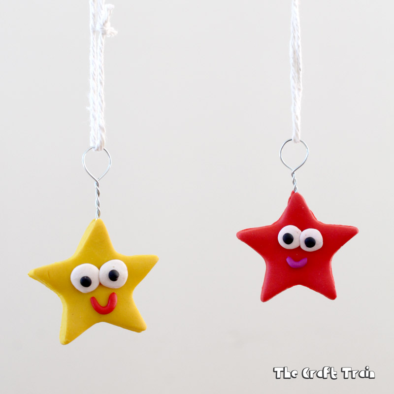 Happy Star Ornaments