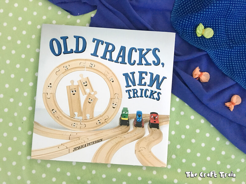 A review and activity on the book Old Tracks New Tricks by Jessica Peterson