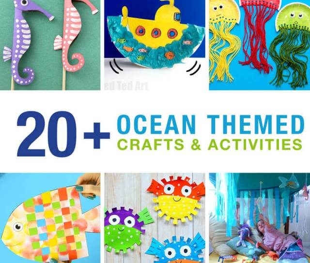 Ocean Crafts And Activities The Craft Train