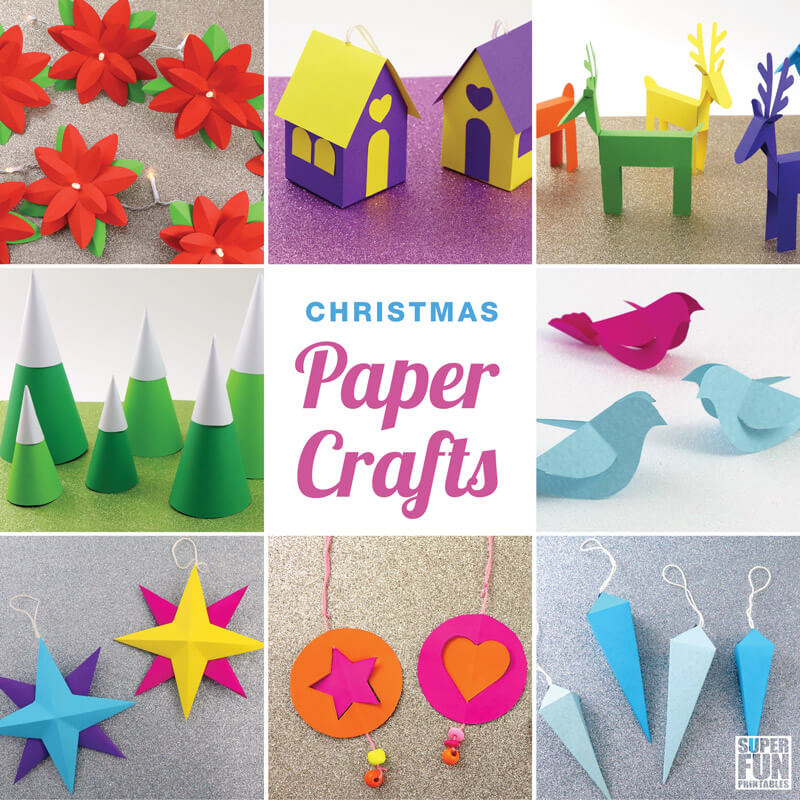 Make Your Own Christmas Decorations With Paper