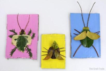 Nature art bugs | The Craft Train