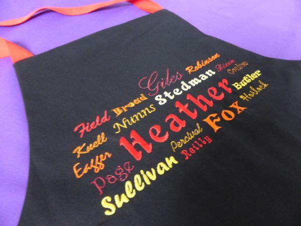 Heather apron