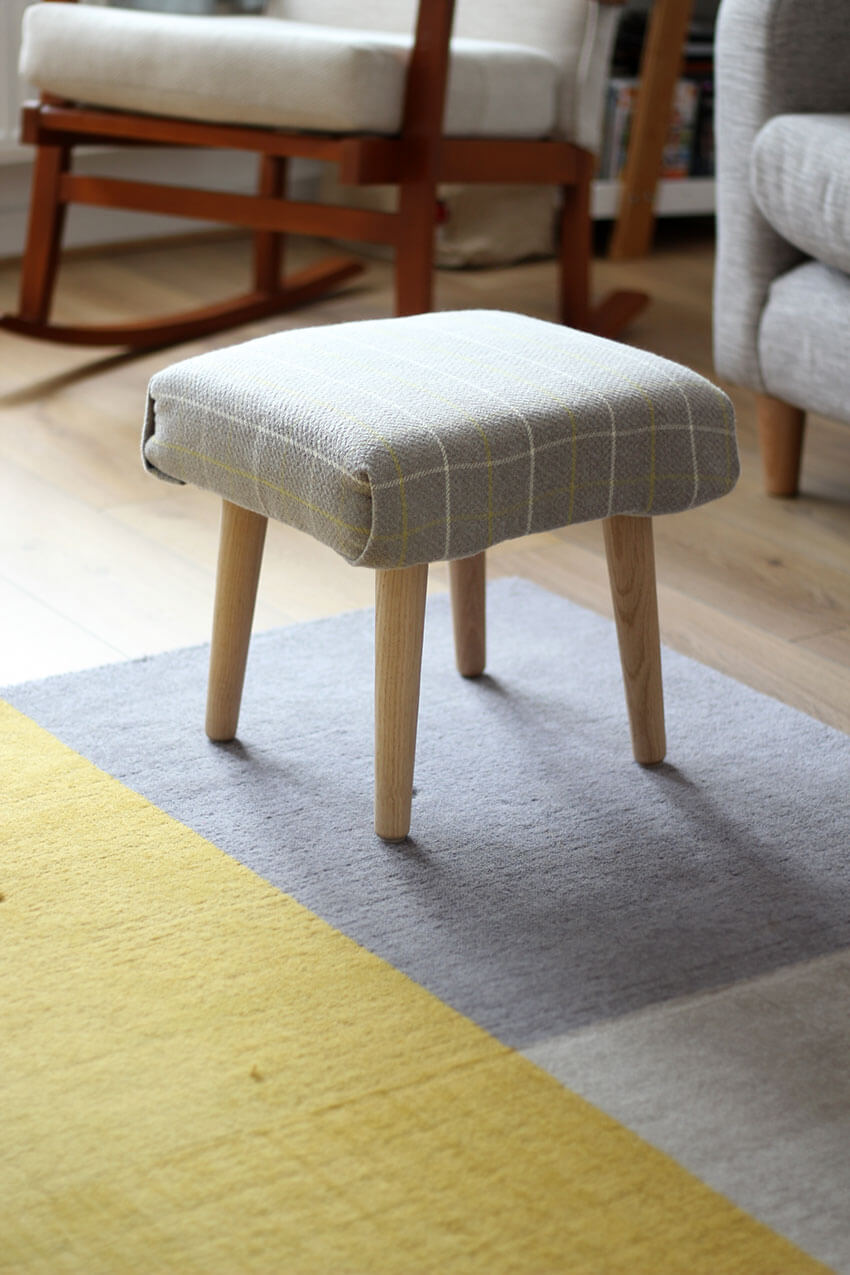 how to make a diy footstool diy and