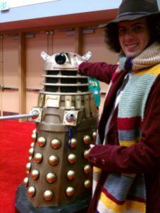 The Fourth Doctor found a Dalek!