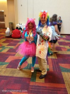 2014 Pinkie Pie with Rainbow Factory Dash.