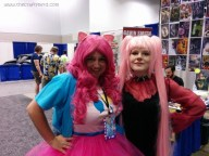 Wicked Lady, from Sailor Moon! I was surprised at the amount of Sailor Moon cosplayers I saw at Pop Con.