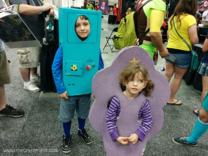 A tiny little BMO and Lumpy Space Princess!