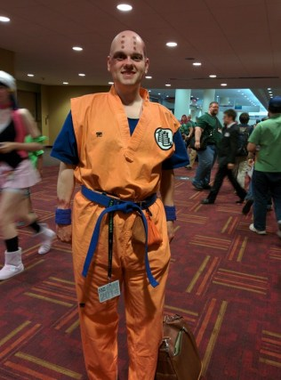Battle damaged Krillin!