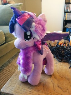 Twilight Sparkle, ready for some snow!