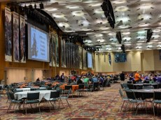 The Pathfinder/Starfinder room. Maybe next year, I'll jump in on a Pathfinder Society game.
