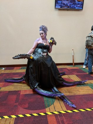 Ursula! I think there were a number of Ursulas at Gen Con this year.