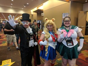 YESSS MORE SAILOR MOON FOLKS. I saw a Sailor Venus and a Sailor Mars, but never managed to catch them for photos.