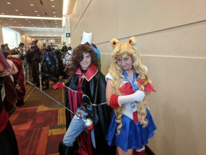 I found a Captain Harlock in line at the Costume Parade!