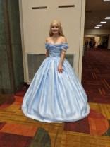 I love this Cinderella's dress.