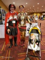 Alexa's family again, this time asRuby, Pyrrha, and tiny Nora!