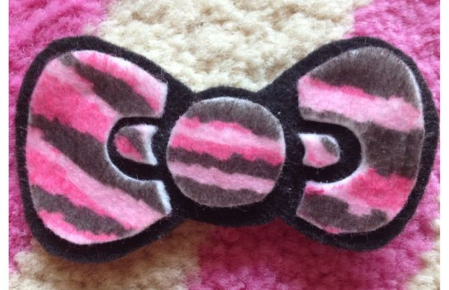 hello kitty bow diy